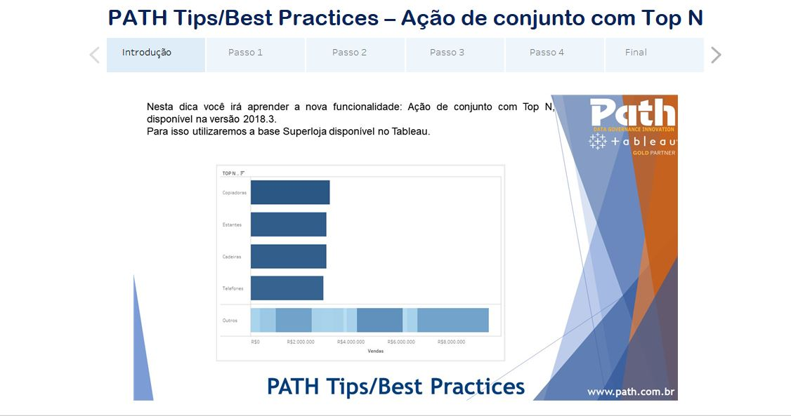 PATH Tips/Best Practices – Ação de Conjunto