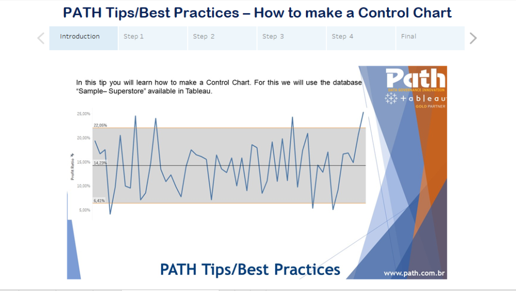 PATH Tips/Best Practices – How to make a Control Chart