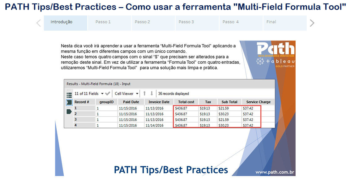 PATH Tips/Best Practices – Como usar a ferramenta