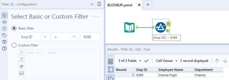PATH Tips/Best Practices- Como replicar a função XLOOKUP do Excel no Alteryx Designer