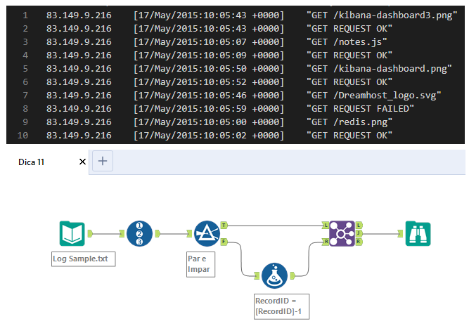 PATH | Alteryx Tips – Work with data distributed in more than one line in a dataset