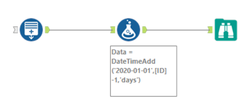 PATH | Alteryx Tips  – Creating a list of dates without input tools